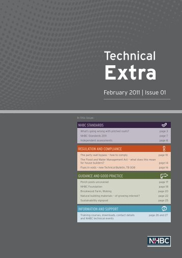 Technical Extra - NHBC Home