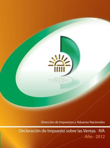 Cartilla instructiva DIAN para declaraciones IVA 2012 - Actualicese