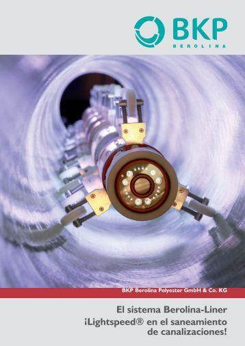 El sistema Berolina-Liner - BKP Berolina Polyester GmbH & Co. KG