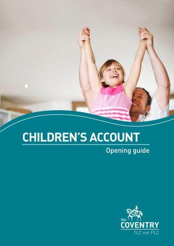 Children S Building Society Accounts