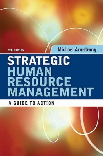 Strategic Human Resource Management: A Guide to ... - Student Blog