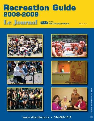 Sports and Recreation Activities - Ville de Dollard-des-Ormeaux