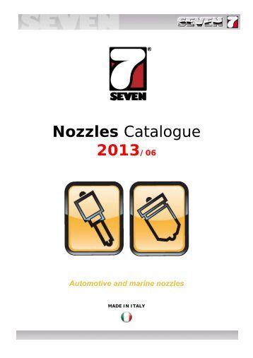 Nozzles Catalogue 2013/06 - SEVEN DIESEL SpA