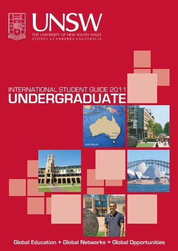 undergraduate - UNSW International - The University of New South ...