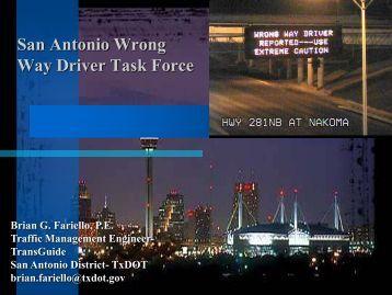 San Antonio Update - Texas A&M Transportation Institute