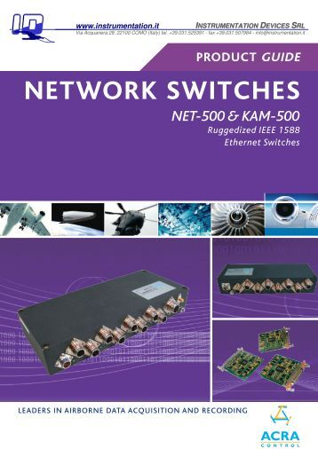 network switches - Instrumentation.it