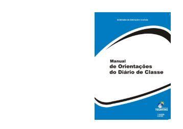 Manual de Orientações Diário Eletrônico - Diretoria Regional de ...