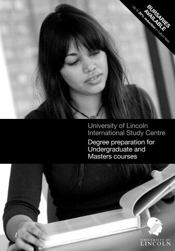 University of Lincoln International Study Centre Degree - Study Group