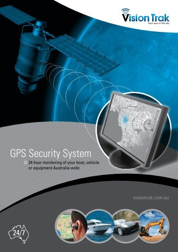 GPS Security System - VisionTrak GPS Tracking Systems