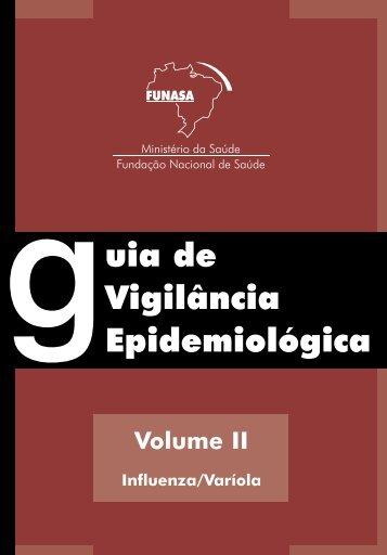 guia de Vigilância Epidemiológica - Escola de Enfermagem - UFMG