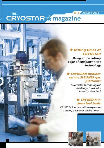 The Cryostar Magazine N°2 : pdf file