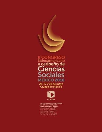 ii congreso latinoamericano y caribeño de ciencias sociales - Resdal