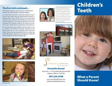Children's Teeth - Panatella Dental