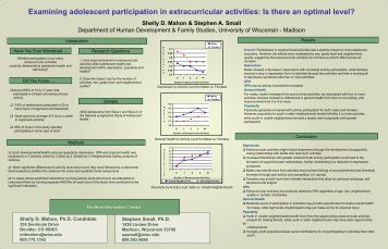 avantages and disadvantages of extracurricular activities Participation in extra-curricular activities students' use of extra-curricular activities for positional advantage in competitive job markets full article figures & data references citations.