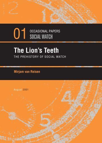 The Lion's Teeth - Social Watch