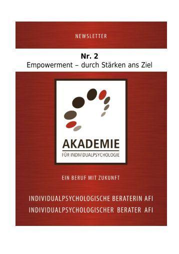 Nr. 2 Empowerment – durch Stärken ans Ziel - Akademie für ...
