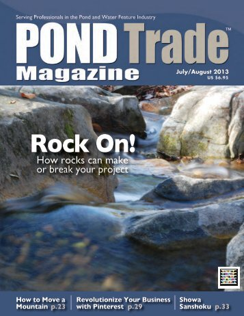 Download the July/August 2013 PDF - Pond Trade Magazine