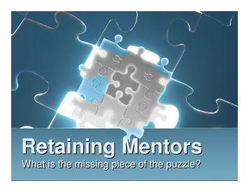 Retaining Mentors