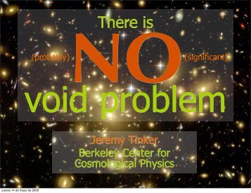 There is No Voids Problem