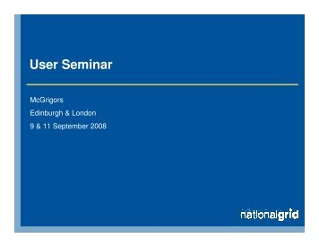 GB Queue Management - National Grid