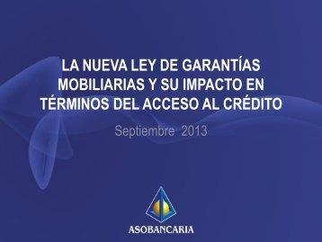 11 ASOBANCARIA Presentación Cámara de Comercio Bogotá