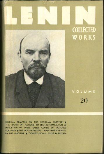 Lenin CW-Vol. 20-TC.pdf - From Marx to Mao