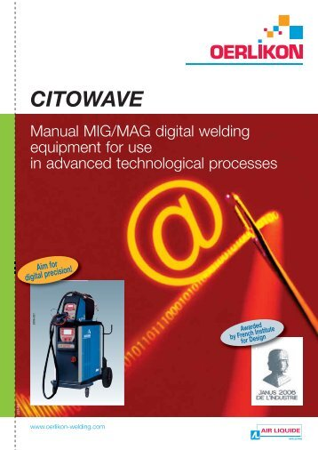 CITOWAVE - Oerlikon, the expert for industrial welding