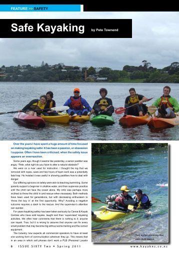 Safe Kayaking - New Zealand Kayak Magazine