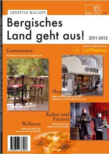 k`bl\a^l Ezg] `^am Znl +)**&+)*+ - Bergische Verlagsgesellschaft
