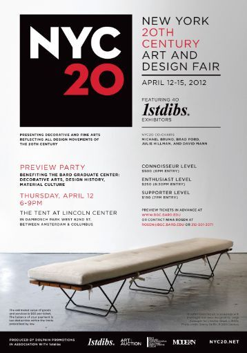 NEW YGRK 2OTI—I CENTURY ART AND DESIGN FAIR