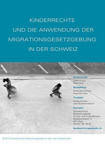 kinderrechte und die anwendung der migrationsgesetzgebung in ...