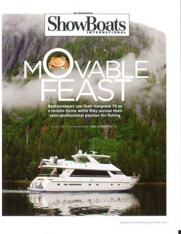 New Yachts for - Greenaway Motor Yachts