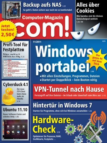com! DVD Windows portable