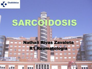 Sarcoidosis - EXTRANET - Hospital Universitario Cruces