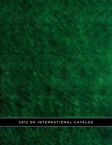 2012 DK INTERNATIONAL CATALOG - SuperBicicleta