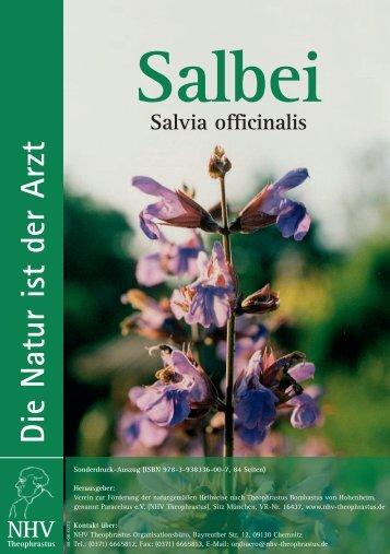 Salbei Salvia officinalis Die Natur ist der Arzt NHV - Bom-Products.de