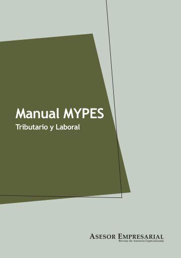Manual MYPES Tributario y Laboral - Revista Asesor Empresarial