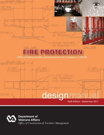 Fire protection design manual office of construction and for Office design handbook