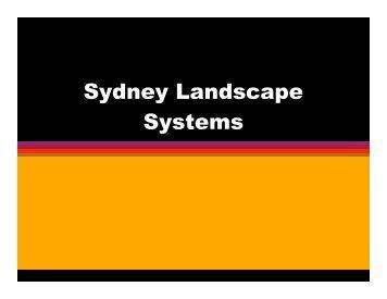Landscape design for Study landscape design