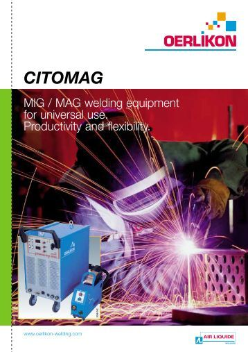 CITOMAG - Oerlikon, the expert for industrial welding