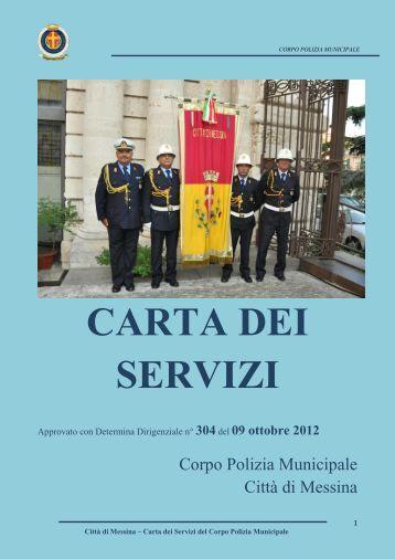 CARTA DEI SERVIZI - Comune di Messina