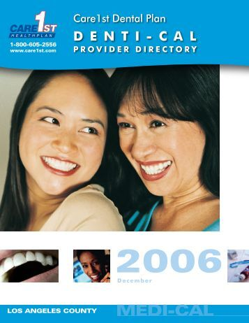 CARE1st DENTAL PLAN PROVIDER DIRECTORY