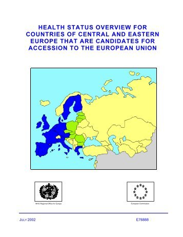 Health status overview for countries of Central and Eastern Europe ...