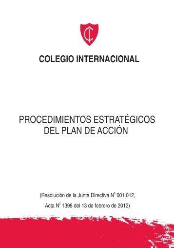 procedimiento FINAL - Colegio Internacional