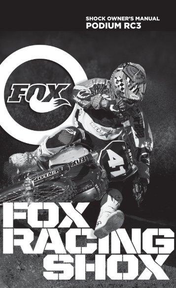 PODIUM RC3 - Fox