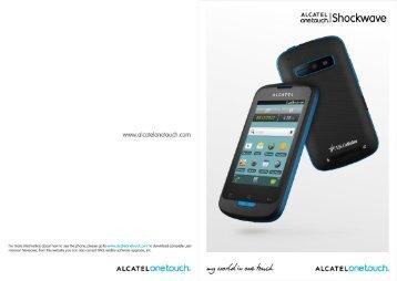Alcatel Shockwave Manual - US Cellular
