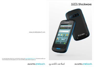 Alcatel Shockwave Manual - US Cellular