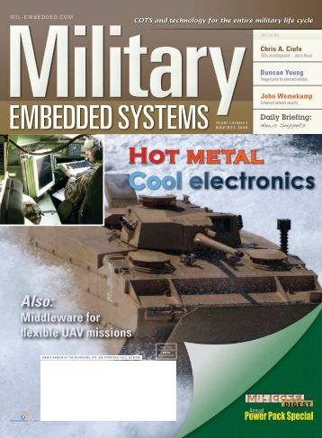 Military Embedded Systems - Volume 4 Issue 8