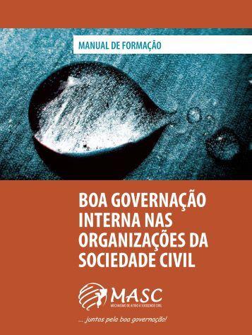 boa governação interna nas organizações da sociedade civil - caicc