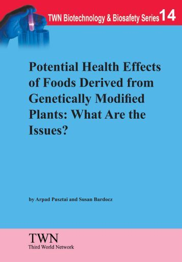 "an analysis of the effects of genetically modified foods on biotechnology Activists often cite the alleged potential health risks of genetically modified foods one recent example of this—10 scientific studies proving gmos can be harmful to human health, posted on collective-evolutioncom—outlines many familiar concerns and points in each case to ""credible scientific studies that clearly demonstrate why gmos should."